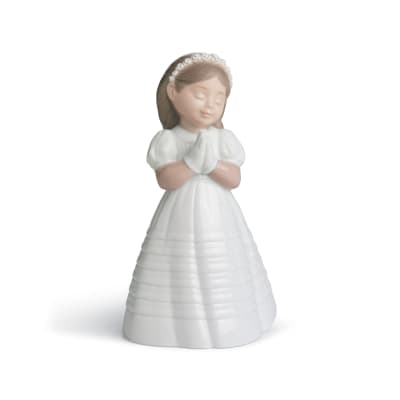 "Nao ""My First Communion"" Porcelain Figurine"