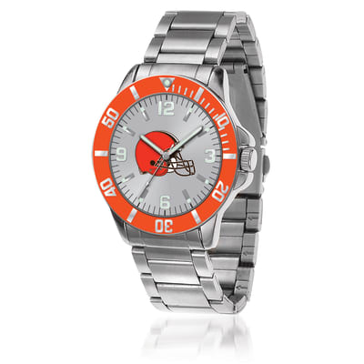 Men's 46mm NFL Cleveland Browns Stainless Steel Key Watch