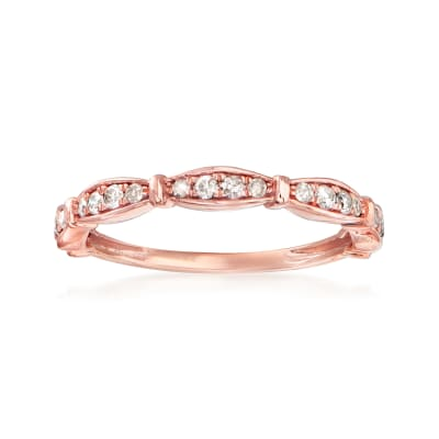 .25 ct. t.w. Diamond Ring in 14kt Rose Gold