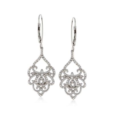 .25 ct. t.w. Diamond Chandelier Drop Earrings in Sterling Silver