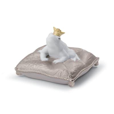 "Lladro ""Enchanted Prince"" Re-Deco Porcelain Figurine"