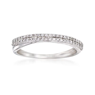 .20 ct. t.w. Diamond Wedding Band in 14kt White Gold