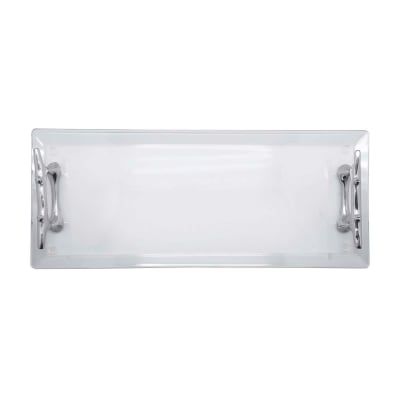 """Mariposa """"High Seas"""" Boat Cleat Handle Acrylic Serving Tray"""