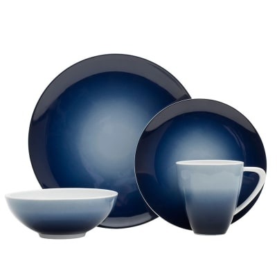 "Mikasa ""Naya"" Blue 16-pc. Service for 4 Dinnerware Set"