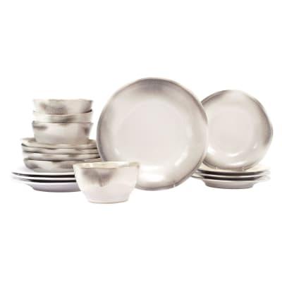 "Vietri ""Aurora Ash"" 16-pc. Dinnerware Set from Italy"