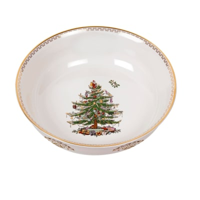 "Spode ""Christmas Tree Gold"" Large Bowl"