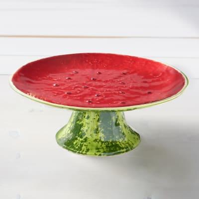 Bordallo Pinheiro Watermelon - Cake Stand