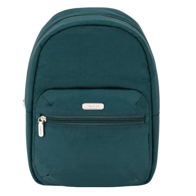 Anti-Theft Essential Green Backpack