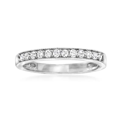 .25 ct. t.w. Diamond Ring in 14kt White Gold