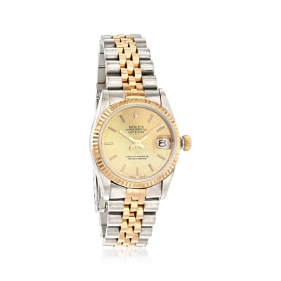 Pre-Owned Rolex Datejust Women's 31mm Automatic Watch in Two-Tone