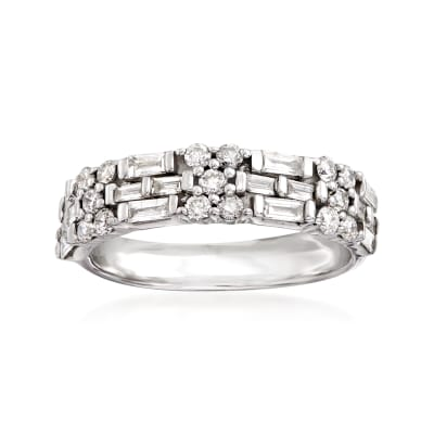 .75 ct. t.w. Diamond Band in 14kt White Gold