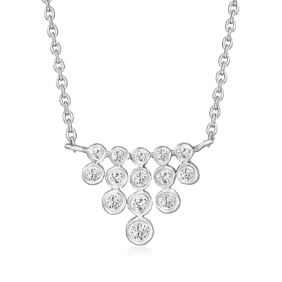 .25 ct. t.w. Diamond Necklace in Sterling Silver