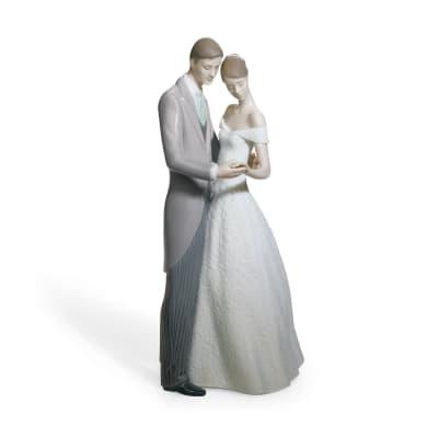 """Lladro """"Together Forever"""" Porcelain Figurine"""