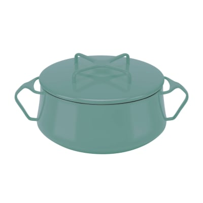 "Dansk ""Kobenstyle"" Teal Small Casserole Pot with Lid"