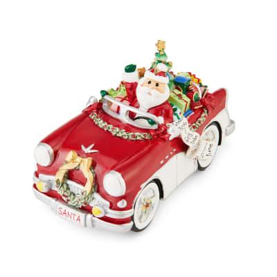 "Fitz and Floyd ""Merry & Bright"" Santa Musical Figurine"