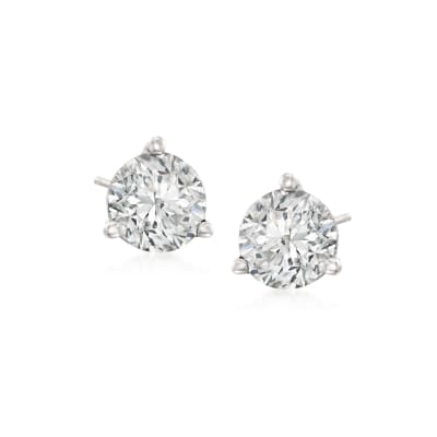 .75 ct. t.w. Diamond Martini Stud Earrings in Platinum