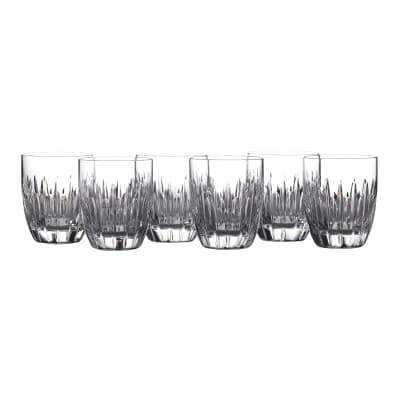 "Waterford Crystal ""Ardan"" Set of Six Mara Tumblers"