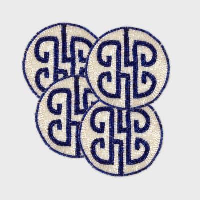 Joanna Buchanan Set of 4 Chinoiserie Coasters