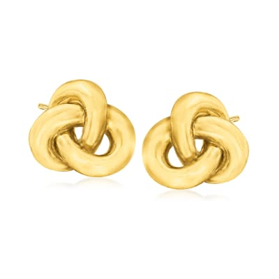 Roberto Coin 18kt Yellow Gold Knot Earrings