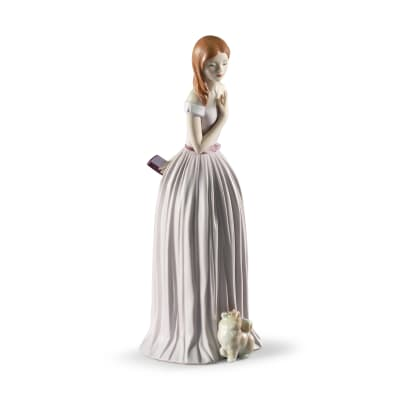 "Lladro ""I'Ll Walk You to the Party"" Porcelain Figurine"