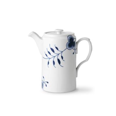 "Royal Copenhagen ""Blue Fluted Mega"" Porcelain Coffee Pot"
