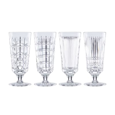 "Reed & Barton ""New Vintage"" Set of 4 Iced Beverage Glasses"