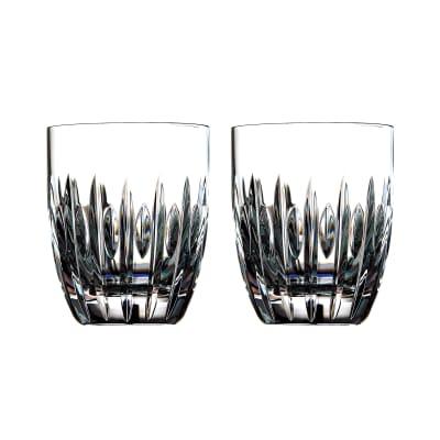 "Waterford Crystal ""Ardan"" Set of Two Mara Tumblers"