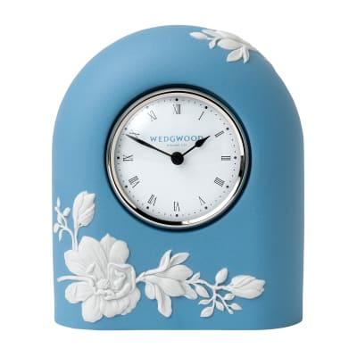 "Wedgwood ""Magnolia Blossom"" Clock"