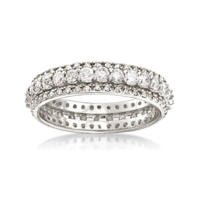 1.50 ct. t.w. Diamond Eternity Band in 14kt White Gold