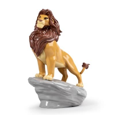 "Lladro ""Simba"" Porcelain Figurine"