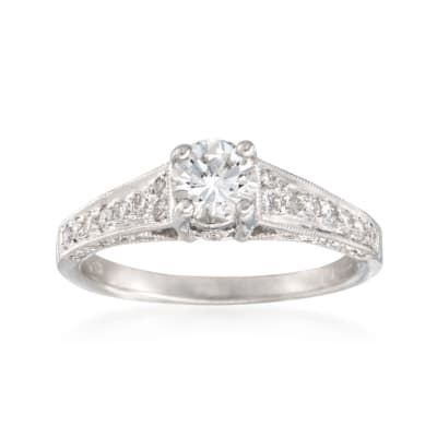 1.07 ct. t.w. Diamond Ring in 18kt White Gold