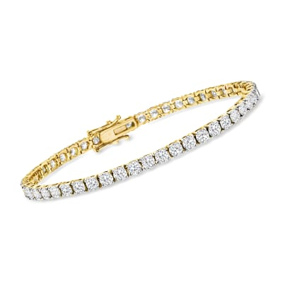 8.00 ct. t.w. Diamond Tennis Bracelet in 14kt Yellow Gold