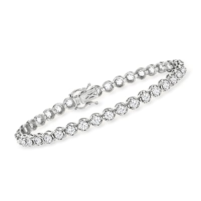 5.00 ct. t.w. Diamond Tennis Bracelet in 14kt White Gold