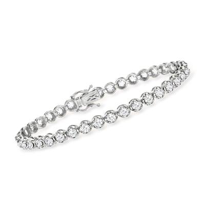 5.00 ct. t.w. Diamond Tennis Bracelet in 14kt White Gold