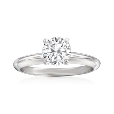 .95 Carat Diamond Ring in 14kt White Gold