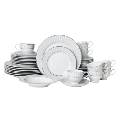 "Mikasa ""Adrian Grey"" 40-pc. Service for 8 Dinnerware Set"