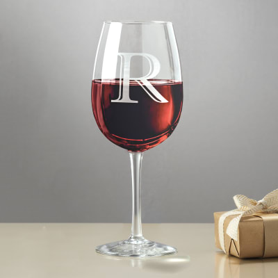 Glass Personalized Wine Glasses