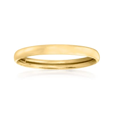 14kt Yellow Gold Polished Ring