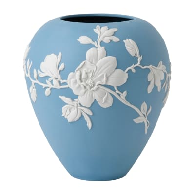 """Wedgwood """"Magnolia Blossom"""" Vase"""