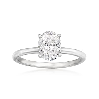 1.50 Carat Certified Diamond Engagement Ring in 14kt White Gold