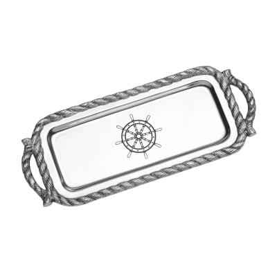"Wilton Armetale ""Nautical"" Bread Tray"