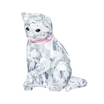 Swarovski Crystal Cat Mother Figurine