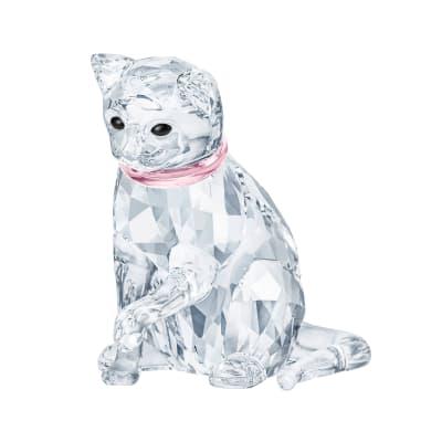Swarovski Crystal Cat Mother Figurine