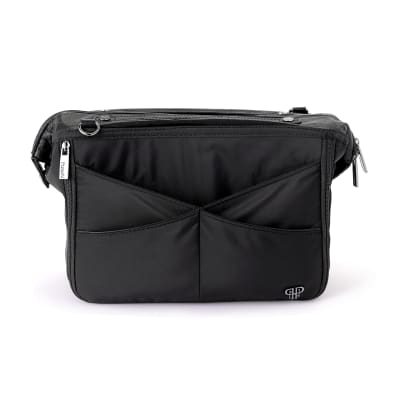 Pursen Littbag Lighted Black Nylon Purse Organizer