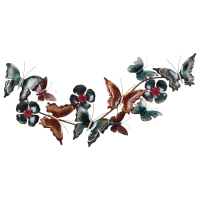 Regal Metallic Butterfly Wall Decor