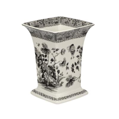 """Spode """"Heritage"""" India Square Vase"""