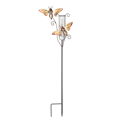 Regal Capri Rain Gauge Bee Garden Stake