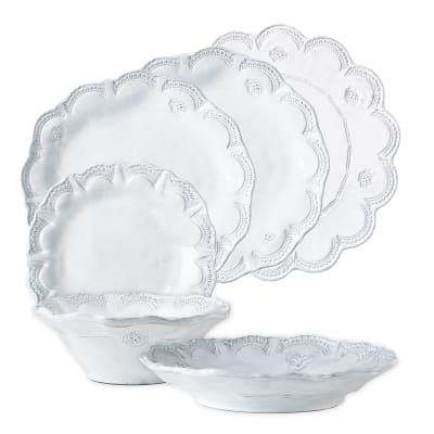 "Vietri ""Incanto Lace"" Dinnerware from Italy"