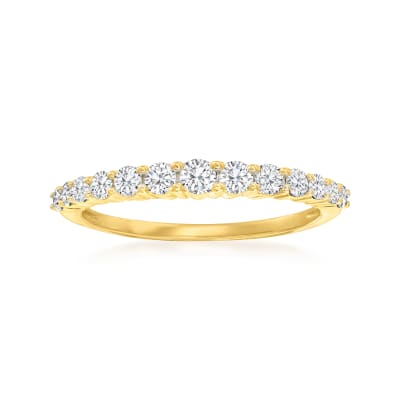 .50 ct. t.w. Diamond Graduated Ring in 14kt Yellow Gold