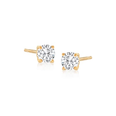 .25 ct. t.w. Diamond Stud Earrings in 14kt Yellow Gold
